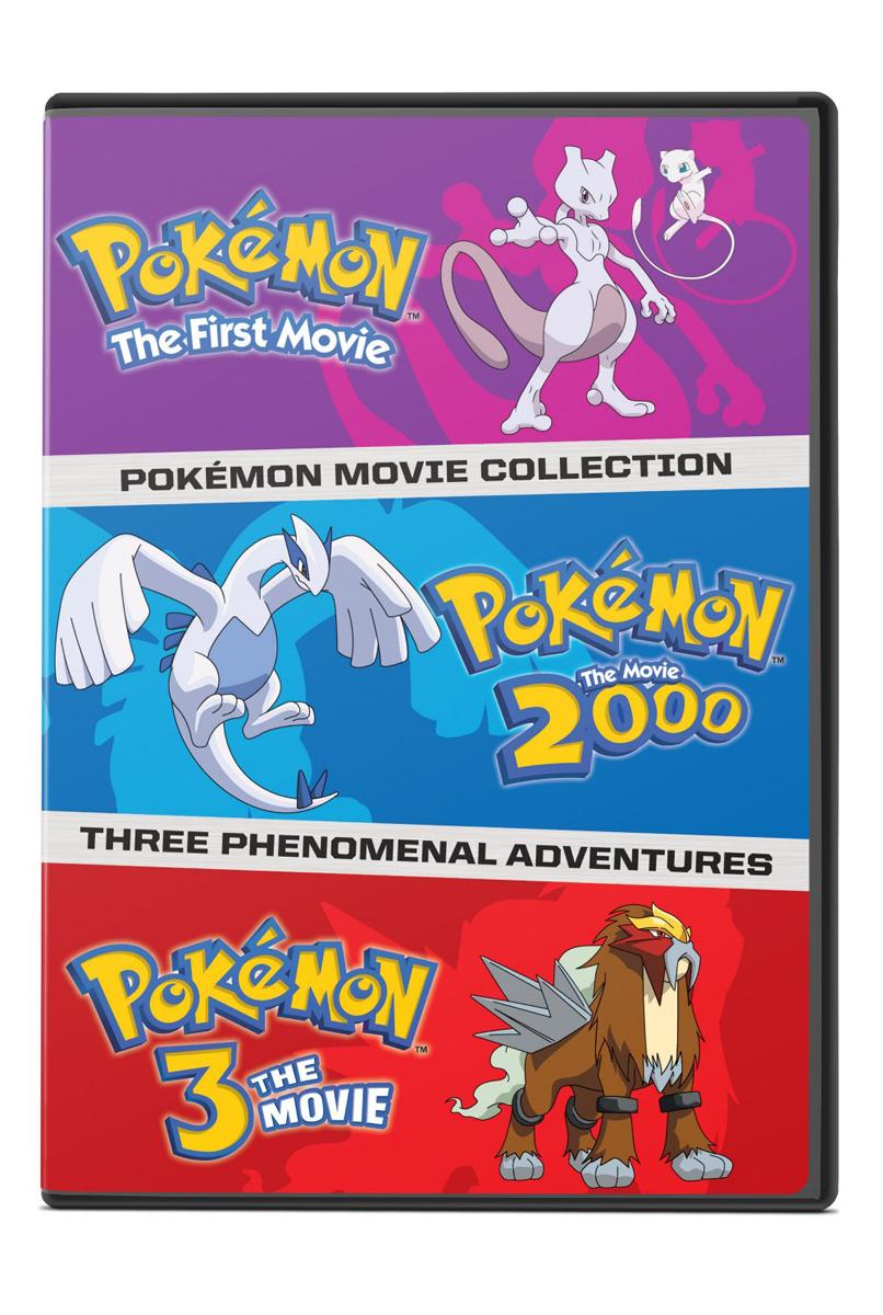 Pokemon Movies 1-3 DVD