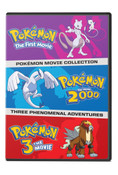 Pokemon Movies 1-3 DVD