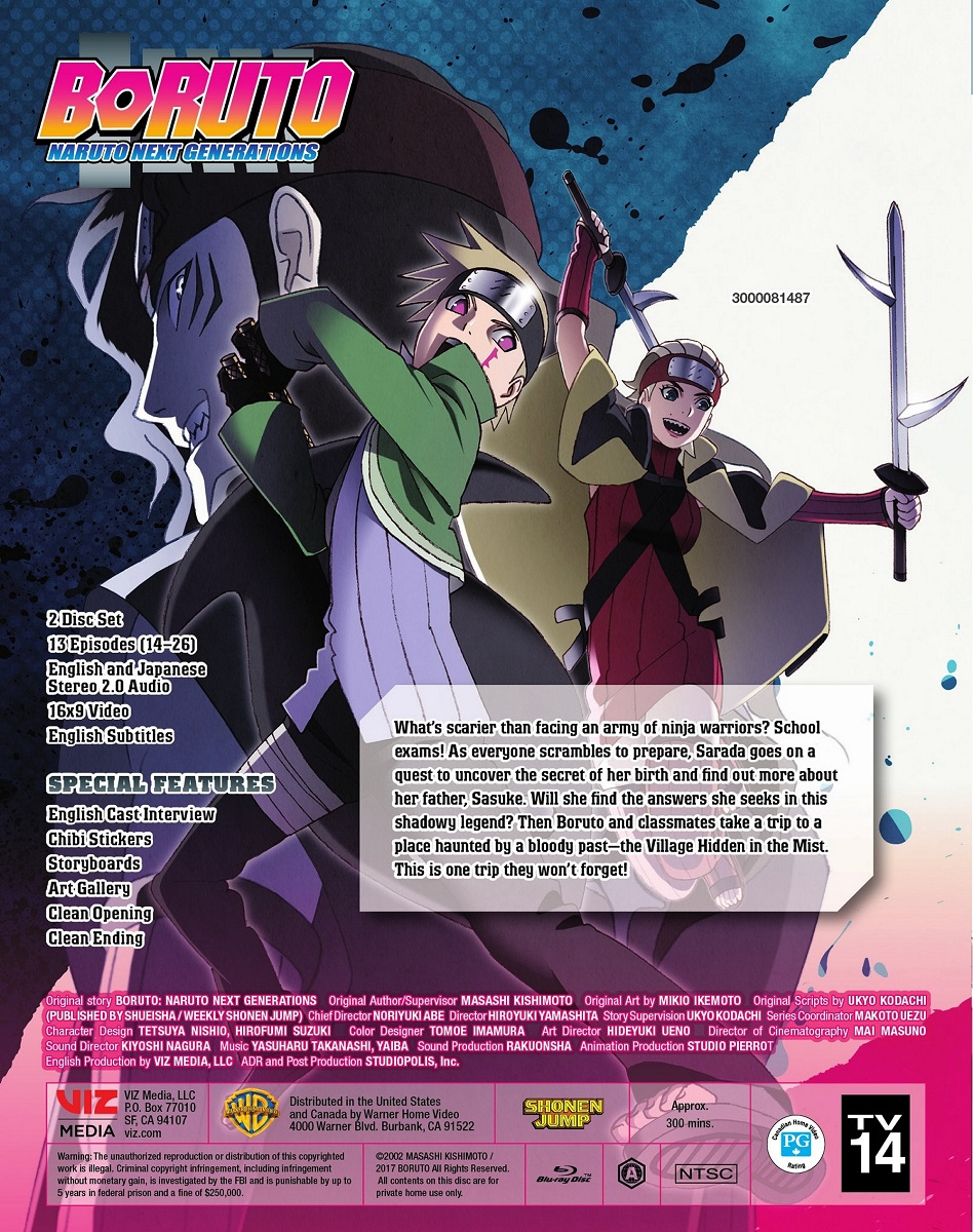 Boruto Naruto Next Generations Set 2 Blu-ray