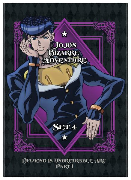 JoJo's Bizarre Adventure Set 4 DVD