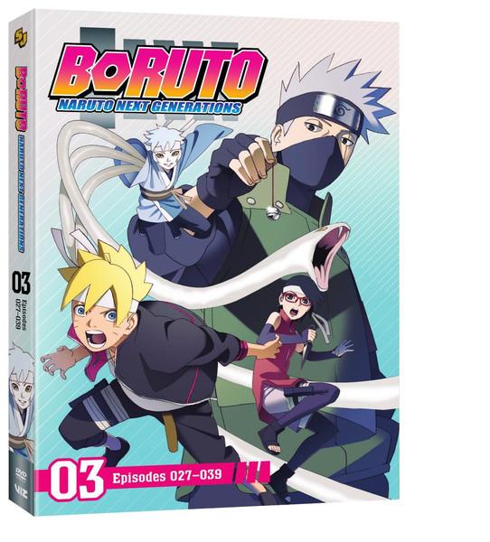Boruto Naruto Next Generations Set 3 DVD