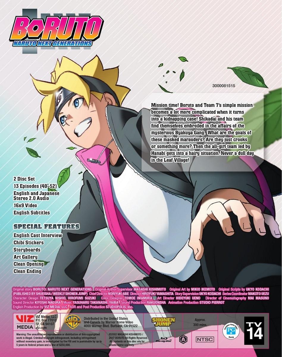 Boruto Naruto Next Generations Set 4 Blu-ray