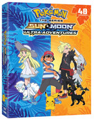 Pokemon Sun & Moon Ultra Adventures DVD