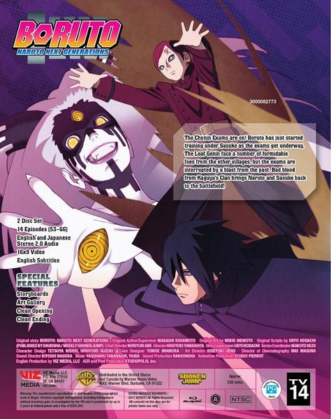 Boruto Naruto Next Generations Set 5 Blu-ray