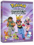 Pokemon Diamond and Pearl DVD