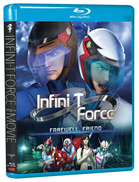 Infini-T Force the Movie Farewell Friend Blu-ray