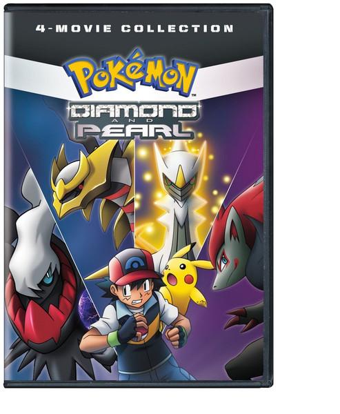 Pokemon Diamond and Pearl Movie 4-Pack DVD