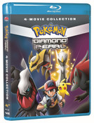 Pokemon Diamond and Pearl Movie 4-Pack Blu-ray
