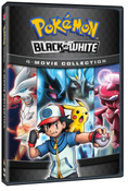 Pokemon Black and White Movie 4-Pack DVD