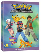 Pokemon Diamond and Pearl Battle Dimension Complete Collection DVD