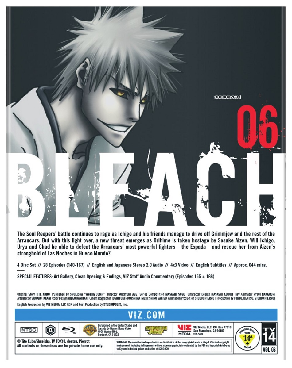 Bleach Set 6 Blu-ray