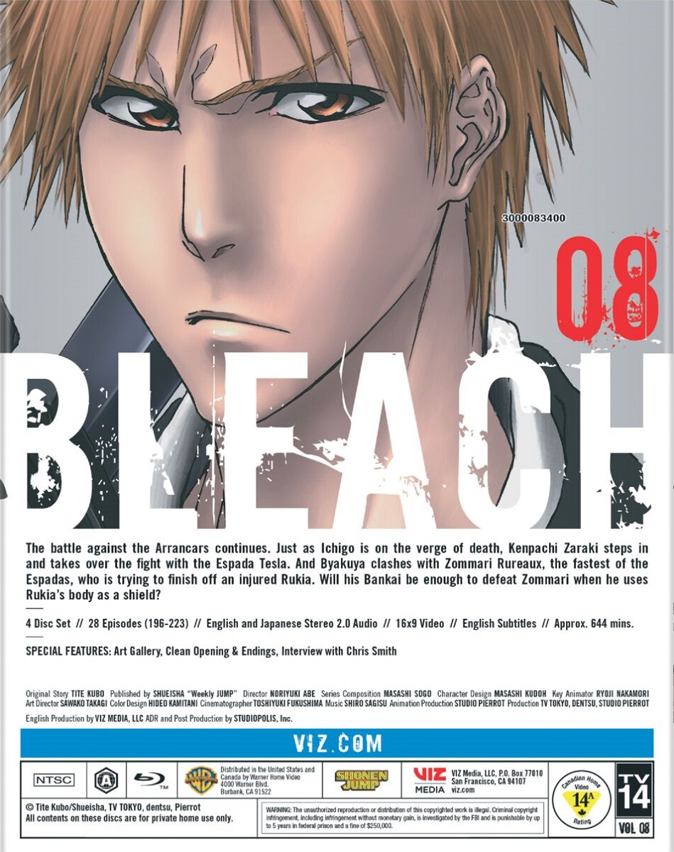 Bleach Set 8 Blu-ray