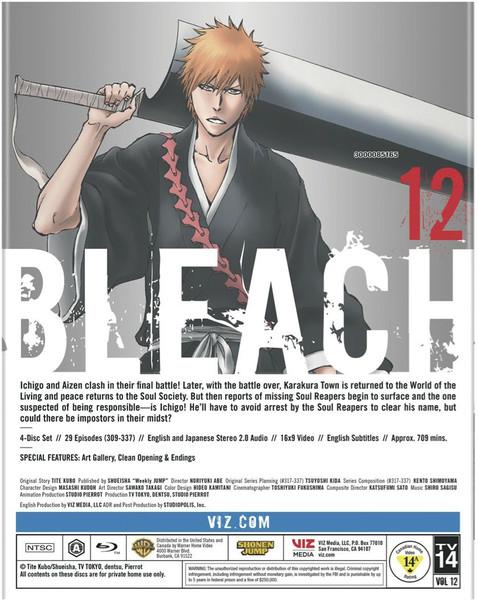 Bleach Set 12 Blu-ray