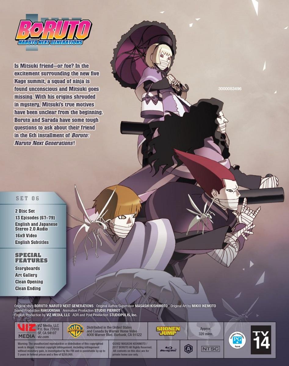 Boruto Naruto Next Generations Set 6 Blu-ray