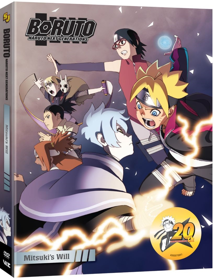 Boruto Naruto Next Generations Set 6 DVD
