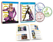 JoJo's Bizarre Adventure Golden Wind Set 1 Limited Edition Blu-ray