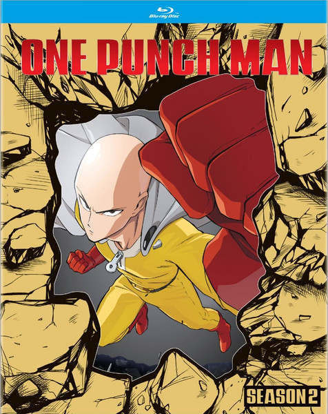 One-Punch Man Season 2 Blu-ray