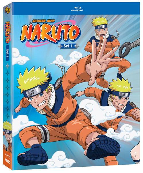 Naruto Set 1 Blu-ray