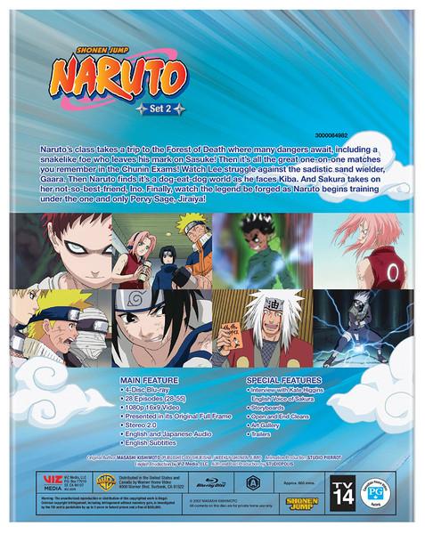 Naruto Set 2 Blu-ray
