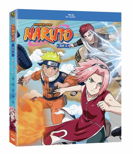 Naruto Set 3 Blu-ray