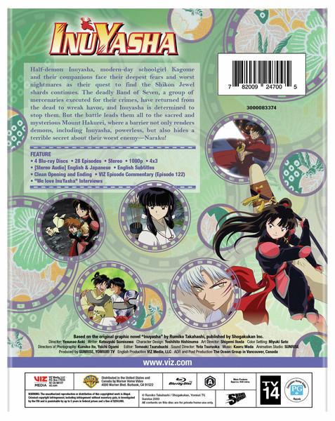 Inu Yasha Set 5 Blu-ray