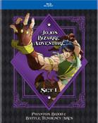 JoJo's Bizarre Adventure Set 1 Blu-ray