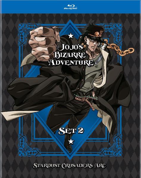 JoJo's Bizarre Adventure Set 2 Blu-ray