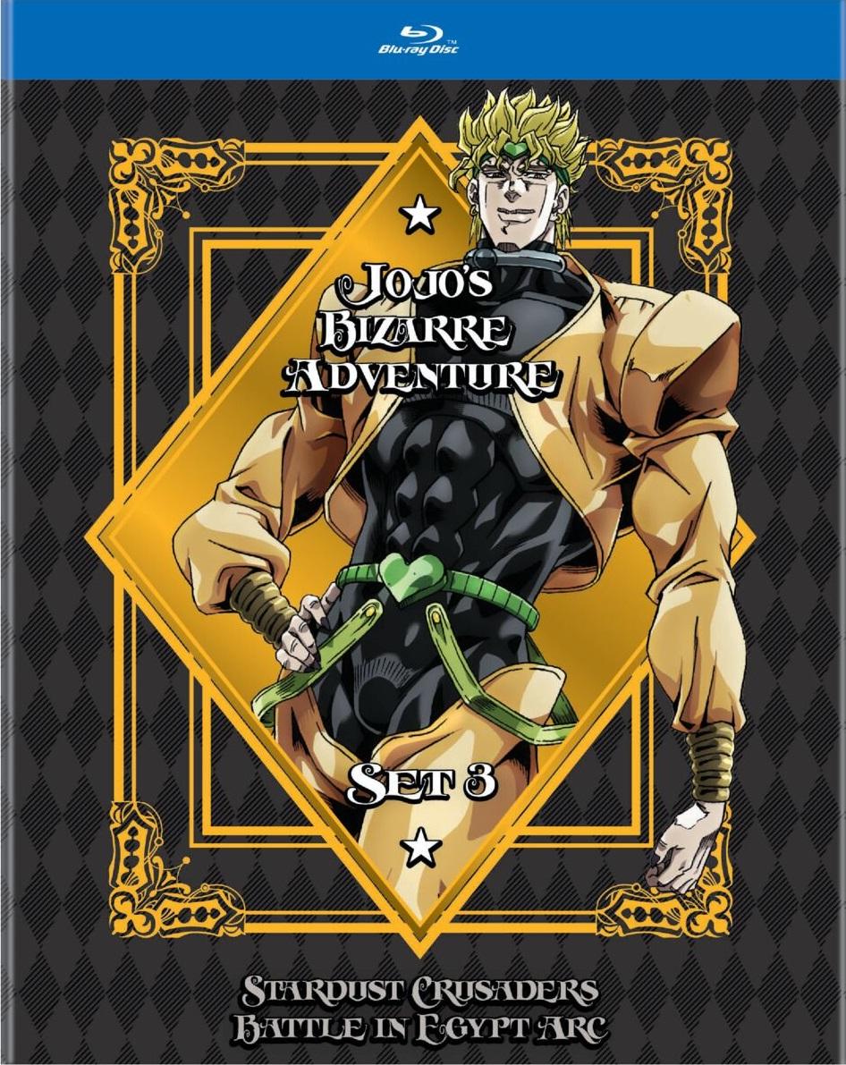 Jojo's Bizarre Adventure Set 3 Blu-ray
