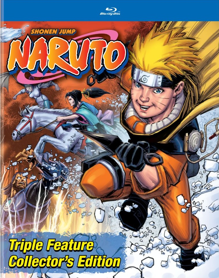 Naruto Triple Feature Collector's Edition Blu-ray