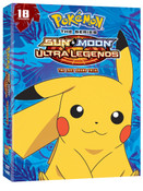 Pokemon Sun & Moon Ultra Legends The Last Grand Trial DVD