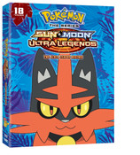 Pokemon Sun & Moon Ultra Legends The Alola League Begins DVD