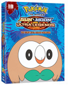 Pokemon Sun & Moon Ultra Legends The First Alola League Champion DVD