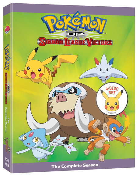 Pokemon Diamond and Pearl Sinnoh League Victors Complete Collection DVD