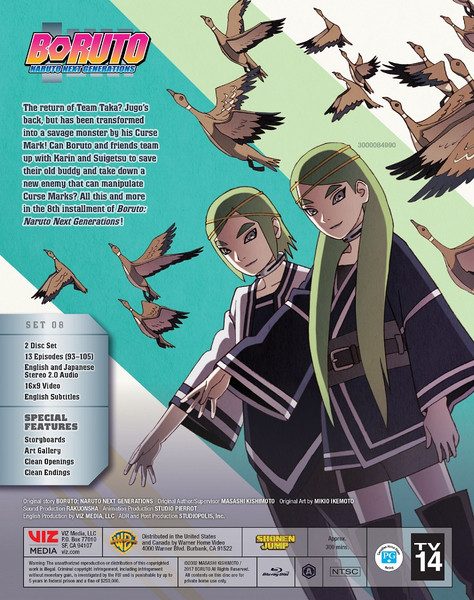 Boruto Naruto Next Generations Set 8 Blu-ray