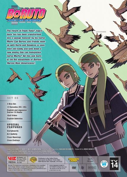 Boruto Naruto Next Generations Set 8 DVD
