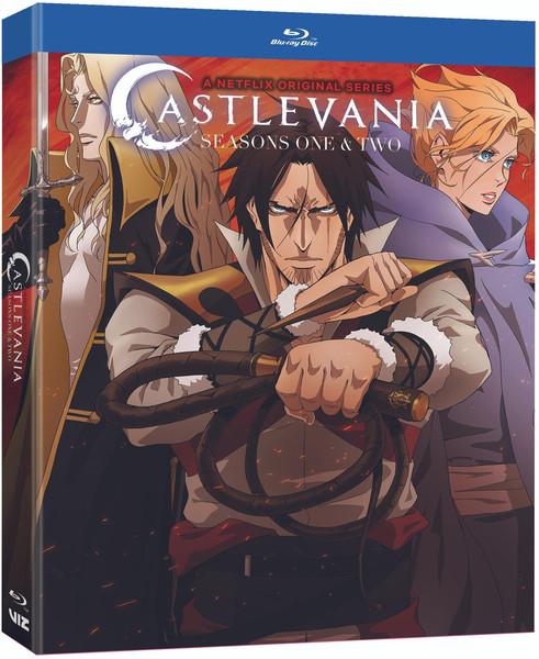 Castlevania Seasons 1 & 2 Blu-ray