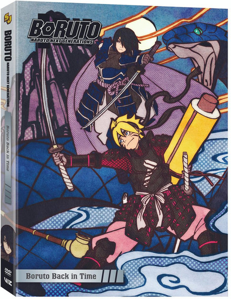 Boruto Naruto Next Generations Set 10 DVD