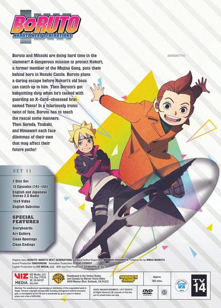 Boruto Naruto Next Generations Set 11 DVD