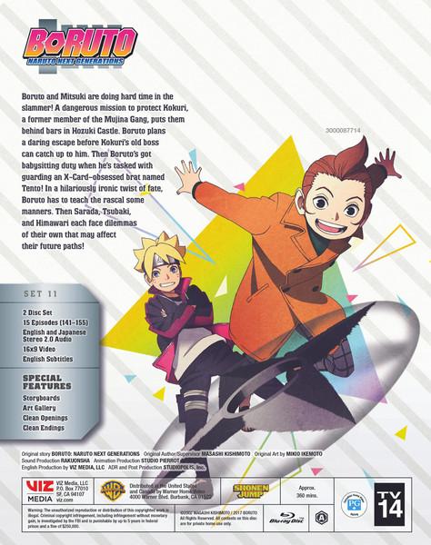 Boruto Naruto Next Generations Set 11 Blu-ray