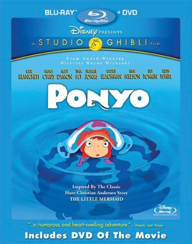 Ponyo Blu-ray/DVD 786936791761
