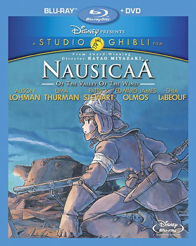 Nausicaa Valley of the Wind Blu-ray/DVD 786936810042