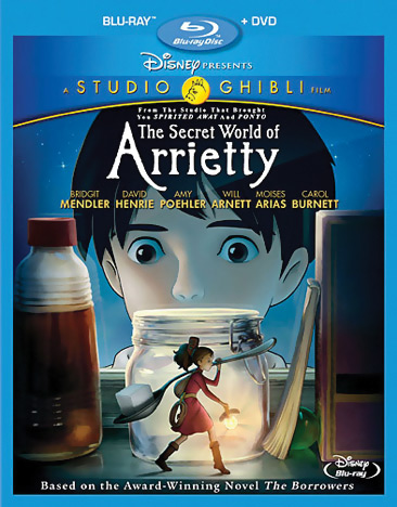 The Secret World of Arrietty Blu-ray/DVD 786936819946