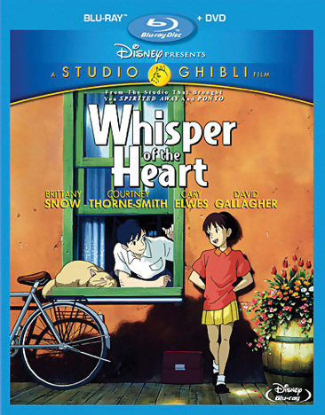 Whisper of the Heart Blu-ray/DVD 786936820164