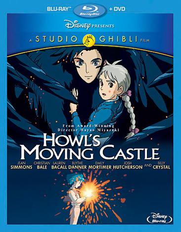 Howl's Moving Castle Blu-ray/DVD 786936833409