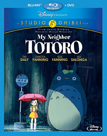 My Neighbor Totoro Blu-ray/DVD 786936833539