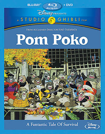 Pom Poko Blu-ray/DVD 786936840247