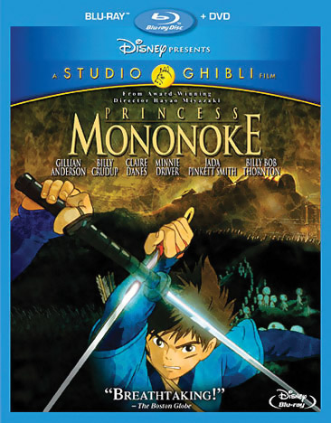 Princess Mononoke Blu-ray/DVD 786936840261