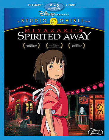 Spirited Away Blu-ray/DVD 786936846188