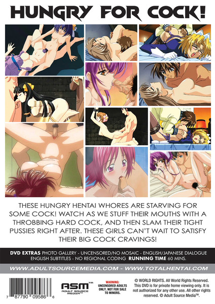Hungry Whores DVD