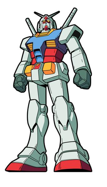 RX-78-2 Gundam Mobile Suit Gundam FiGPiN